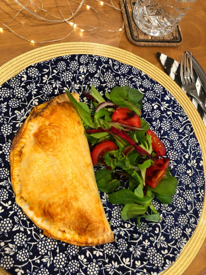 Syn Free Ham Mushroom Pizza Calzone Slimming World
