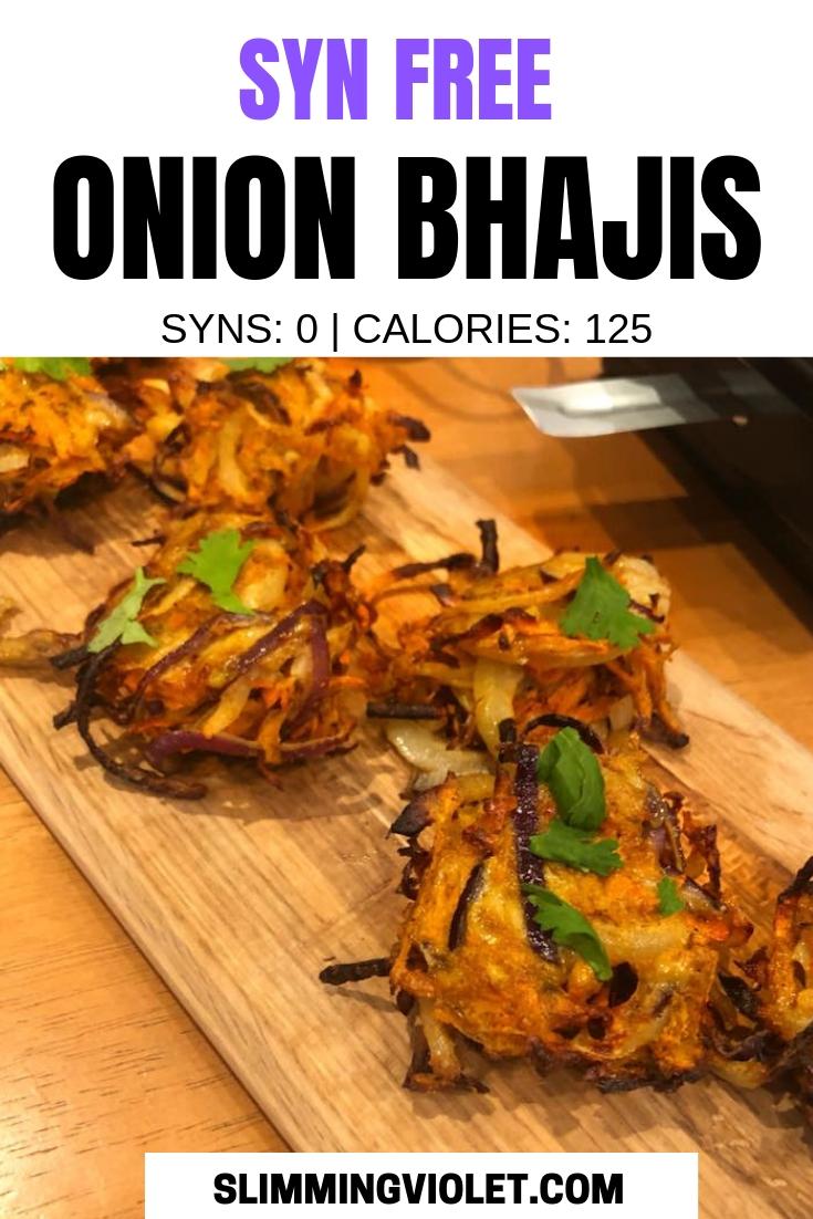 Syn Free Onion Bhajis Slimming World