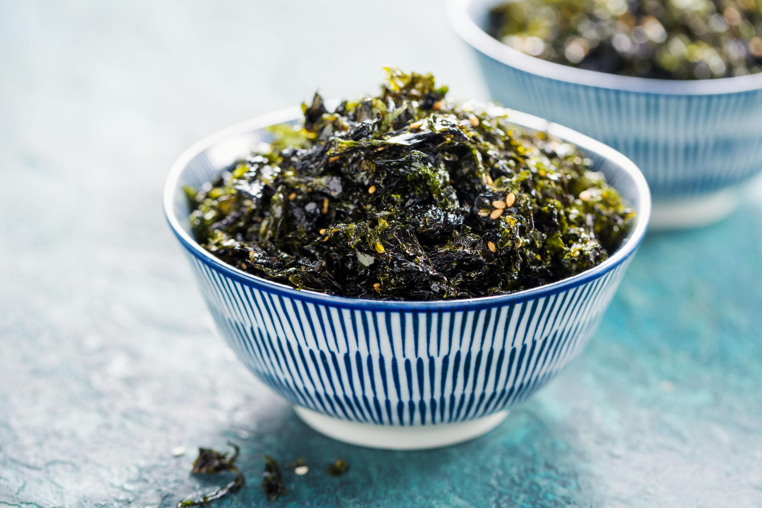 Syn Free Crispy Kale Seaweed