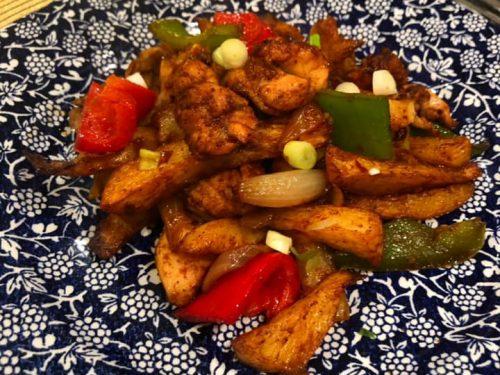 Syn Free Salt Pepper Chicken Chips